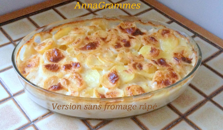 Gratin dauphinois annagrammes cuisine familiale d licieusement casher - Gratin de pommes de terre au four ...