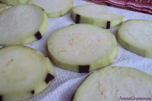 aubergines rondelles