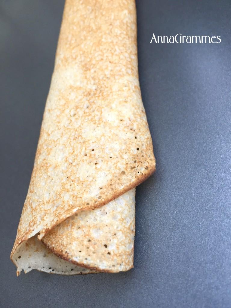 Les cr pes sal es annagrammes cuisine familiale d licieusement casher - Pate a crepe tefal ...