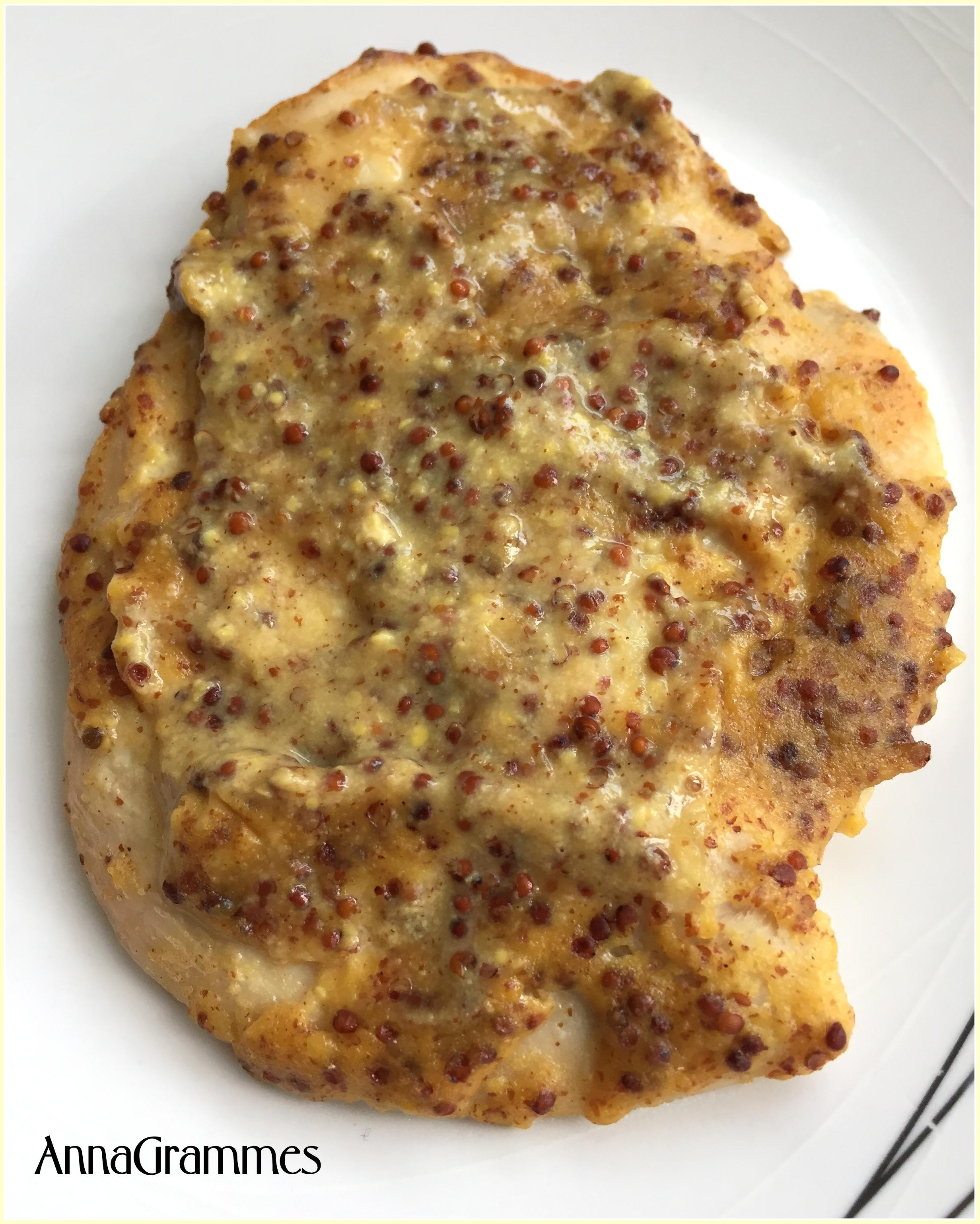Escalopes de dinde miel moutarde annagrammes cuisine - Cuisiner escalopes de dinde ...