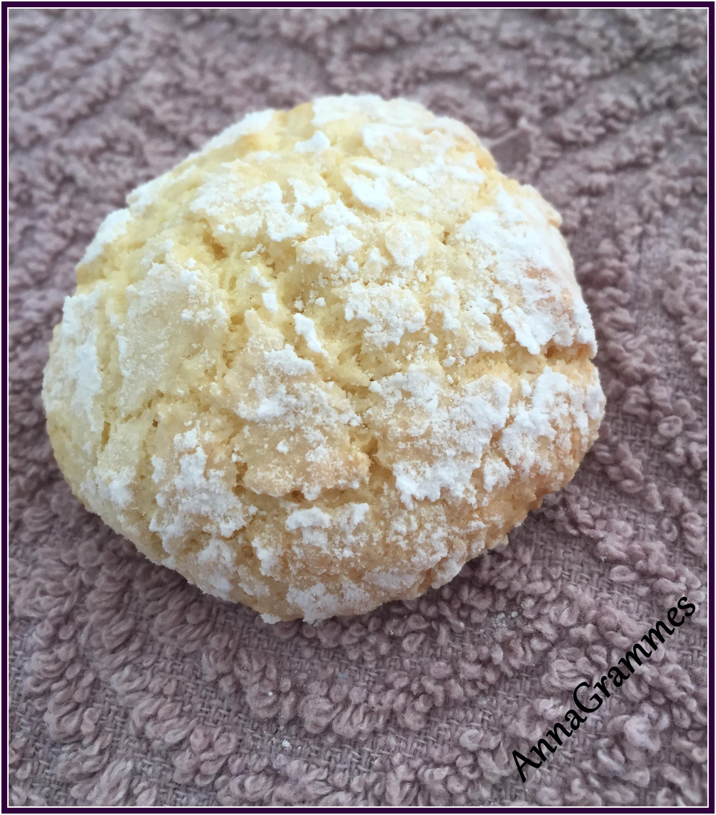 Gateau Boule De Neige Noix De Coco: Biscuits Moelleux à La Noix De Coco