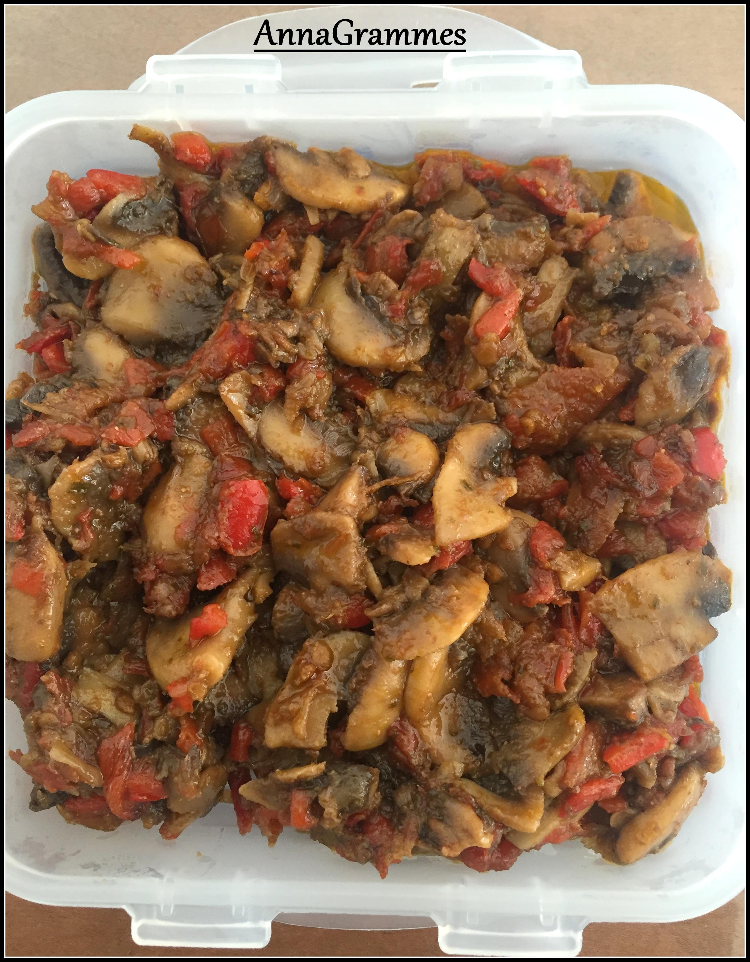 Salade de champignons cuits annagrammes cuisine - Salade de champignons frais ...
